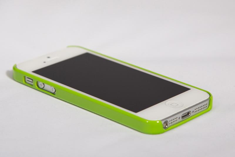 Бампер для iPhone 5, 5S (зеленый) арт. Iphone540
